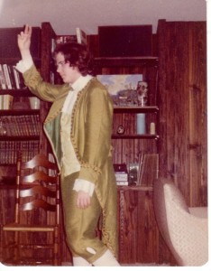 Andrew Horn as John Dickinson in New Youth Performing Theatre's production of 1776 at age 15