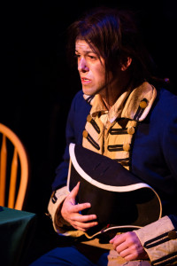 Matthew Hirsh as the Courier at Toby's Dinner Theatre of Columbia