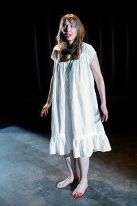 Sara Barker as Woman in Closet Land at Factory449