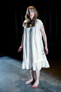 Sara Barker as Woman in Closetland at Factory449