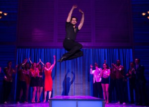 Samuel Pergande (Johnny) and the company of the North American tour of DIRTY DANCING – THE CLASSIC STORY ON STAGE