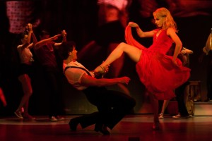 Samuel Pergande (Johnny) and Jenny Winton (Penny) in the North American tour of DIRTY DANCING – THE CLASSIC STORY ON STAGE.