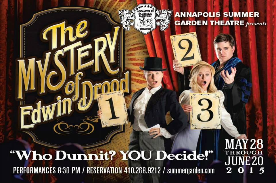 Review The Mystery Of Edwin Drood At Annapolis Summer Garden Theatre Theatrebloom