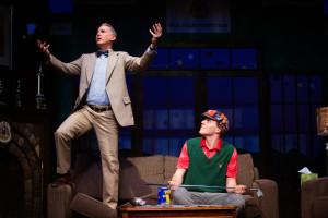 Left- Zell Murphy as Henry Bingham and Right- Brad Dressler as Justin Hicks