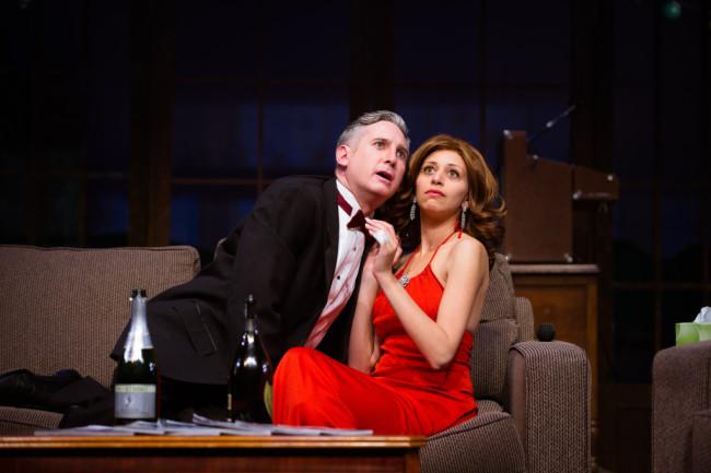 Left- Zell Murphy as Henry Bingham. Right- Dina Soltan as Pamela Peabody