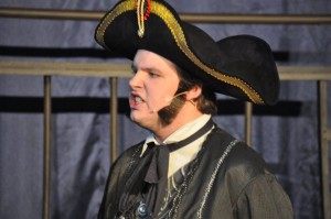 Zach Miller as Inspector Javert in Les Miserables
