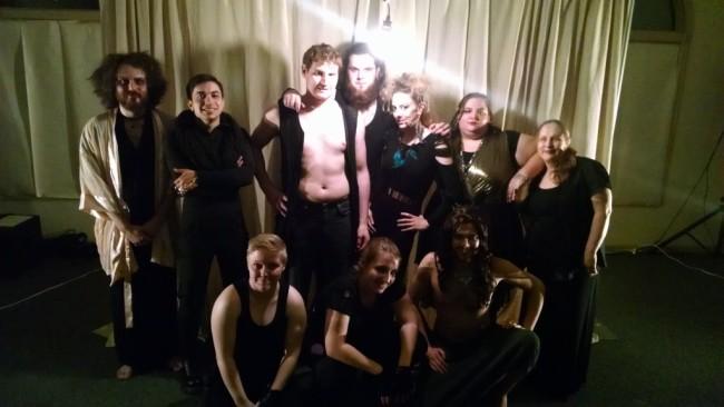 BOOM Theatre Company presents the cast of Macbeth