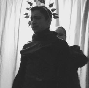 Sam Hayder as Macbeth