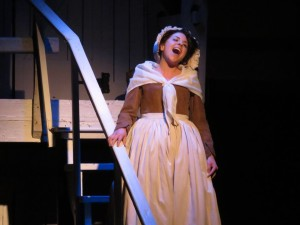 Santina Maiolatesi as Abigail Adams in 1776 at Toby's Dinner Theatre