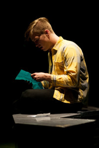 Sean Dynan as CB in Dog Sees God at Spotlighters Theatre