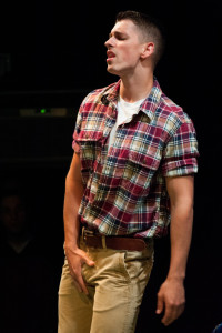 Dennis Binseel as Matt in Dog Sees God at Spotlighters Theatre