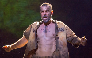 Ramin Karimloo as Jean Valjean on Broadway