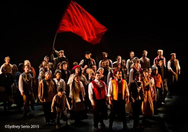 """One Day More"" performed by the cast of Les Miserables at Milburn Stone Theatre"