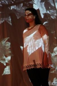 Michele Massa in The Pillow Book at Cohesion Theatre Company