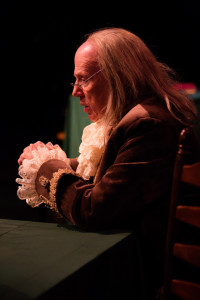 John Stevenson as Ben Franklin in 1776 at Toby's Dinner Theatre