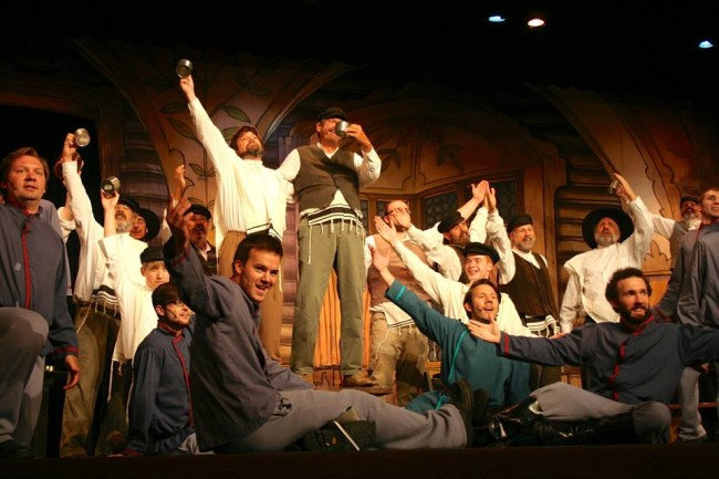 """To Life"" in Fiddler on the Roof at Howard County Summer Theatre"