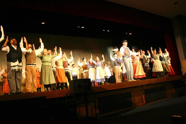 The Cast of Fiddler on the Roof at Howard County Summer Theatre