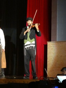Nithin Venkatraman as The Fiddler on the Roof