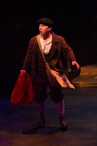 Jeffrey Shankle as The Baker in Into the Woods at Toby's Dinner Theatre