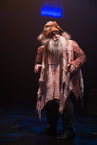 Russell Sunday as The Mysterious Man in Into the Woods at Toby's Dinner Theatre