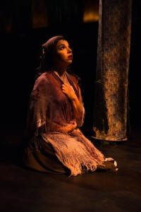 Julia Lancione as Cinderella in Into the Woods at Toby's Dinner Theatre