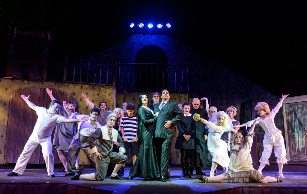 Review The Addams Family At Annapolis Summer Garden Theatre Theatrebloom