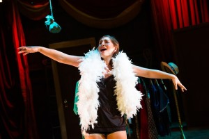 "Emily Levey as Lois Lane / Bianca in ""Kiss Me Kate"" at NextStop Theatre"