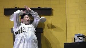 Dave Hill as Robertson Ay in Mary Poppins at September Song