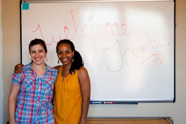 Artistic Director Nicole Jost welcomes new Creative Programs Director Thembi Duncan to YPT