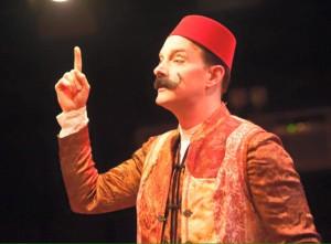 Brian S. Kraszewski as Gripper in A Sensation Novel at Spotlighters Theatre