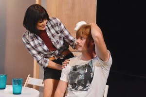 Rachel Roth (left) as Sharon and David Shoemaker (right) as Kenny in Detroit at FPCT