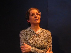 "Sue Struve as Eleanor Roosevelt in ""Eleanor: Her Secret Journey"" at Compass Rose Theater, as a part of The Rose Play Festival"