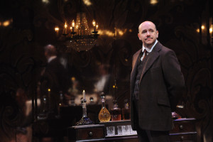 Chris Genebach as Inspector Goole in An Inspector Calls at Everyman Theatre