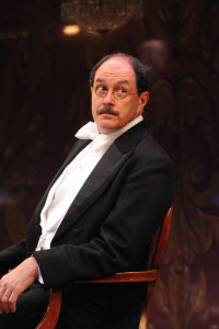 Bruce Randolph Nelson as Arthur Birling in An Inspector Calls at Everyman Theatre