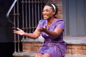 Dawn Ursula as Jacqueline Marie Butler in Queens Girl in the World at Theater J