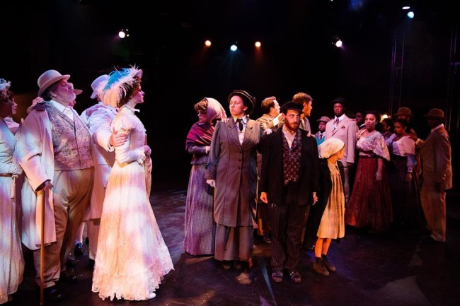 The Company of Ragtime at Toby's Dinner Theatre of Columbia