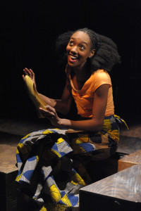 Zurin Villanueva as Sophie in Ruined at Everyman Theatre