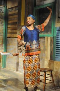 Dawn Ursula as Mama Nadi in Ruined at Everyman Theatre