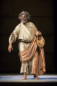 Craig Wallace as Homer in The Guard at Ford's Theatre