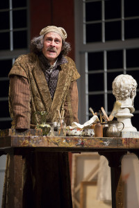 Mitchell Hebert as Rembrandt in The Guard at Ford's Theatre