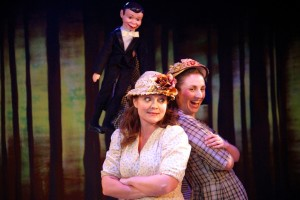 Renata Plecha and Teresa Spencer in Annapolis Shakespeare Company's AS YOU LIKE IT.
