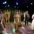 Teresa Spencer, Gary DeBreuil, Reed DeLisle, Megan Morse Jans, Jonathan Feuer, James Carpenter, Richard Pilcher, and Renata Plecha in Annapolis Shakespeare Company's AS YOU LIKE IT