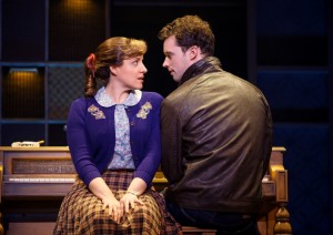 "Queens College. Abby Mueller (""Carole King"") and Liam Tobin (""Gerry Goffin"")."