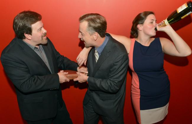 Thom Eric Sinn(Jerry), Gareth Kelly(Robert), and Ryan Gunning (Emma)