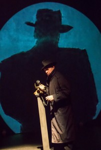 Mark Jaster in Cabaret Noir at Happenstance Theater