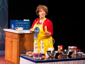 Sherri L. Edelen as Rita Gaw in Cake Off at Signature Theatre