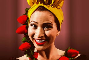 Sharalys Silva as Carmen Miranda at Pointless Theatre