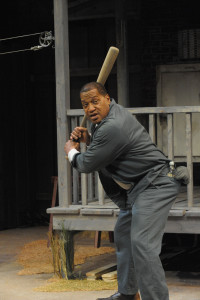 Alan Bomar Jones as Troy in Fences at Everyman Theatre