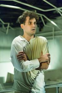 Matt Lee as Victor in Frankenstein at Maryland Ensemble Theatre