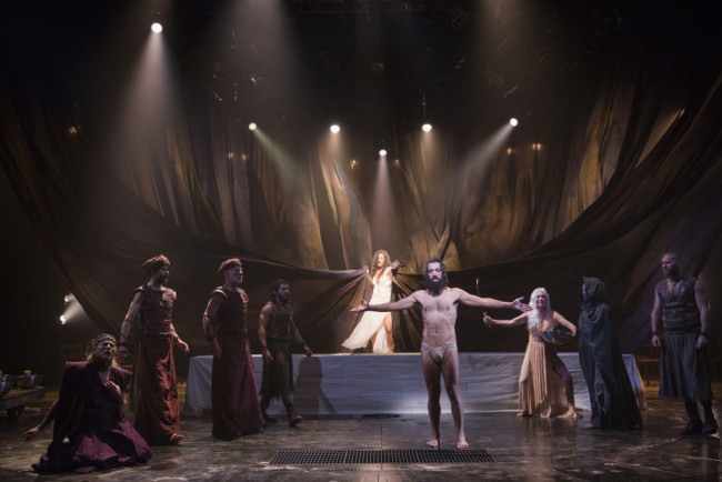 The cast of Yaël Farber's Salomé at the Shakespeare Theatre Company